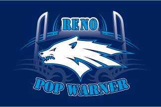 Reno pop warner logo 2011