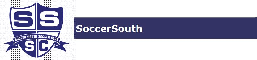 Soccer south banner