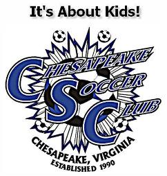 Chesapeake soccer club logo