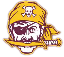 Waterloo pirates logo